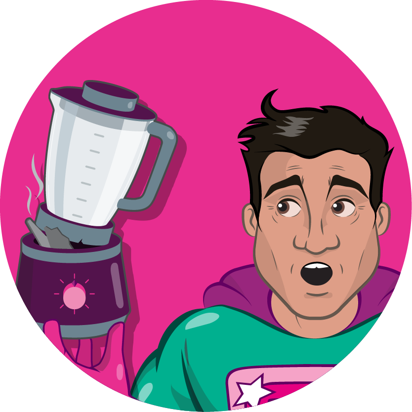 icon superhero blender